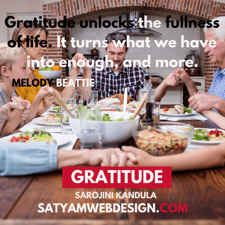 "Quote by — Melody Beattie : ""Gratitude unlocks the fullness of life. It turns what we have into enough, and more. It turns denial into acceptance, chaos to order, confusion to clarity. It can turn a meal into a feast, a house into a home, a stranger into a friend. Gratitude makes sense of our past, brings peace for today and creates a vision for tomorrow."