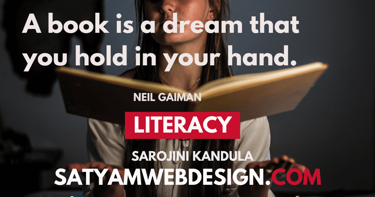 """A book is a dream that you hold in your hand."" —Neil Gaiman   """
