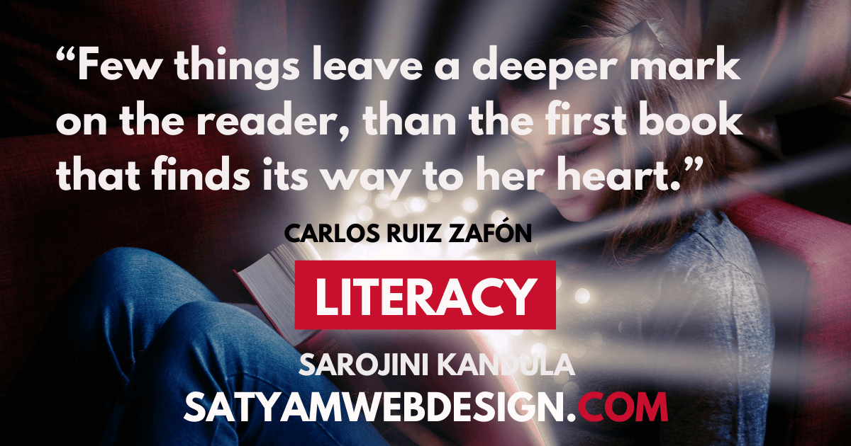 "Few things leave a deeper mark on the reader, than the first book that finds its way to his heart."" —Carlos Ruiz Zafón Author.  """